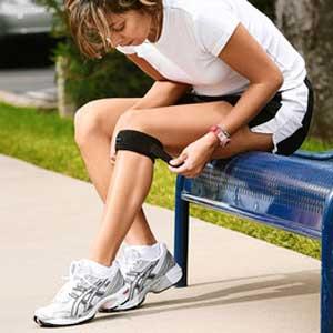 Knästöd vid meniskskada eller annan smärta i knät